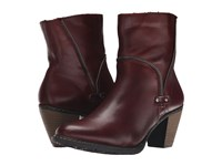 Rieker Z1554 Medoc Cristallino Burgundy Bogota Women's Dress Boots Brown