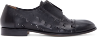 Maison Martin Margiela Black Cut Out Zip Up Oxfords