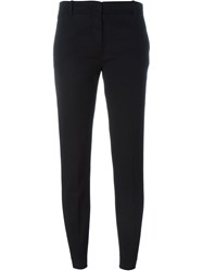 Aspesi Skinny Chino Trousers Black