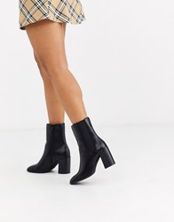 Pimkie Heeled Boots In Black