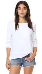 Wildfox Couture Basic Pullover Clean White