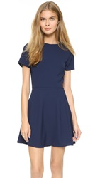 Wayf Short Sleeve Dress Midnight