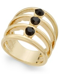 Inc International Concepts Gold Tone Multi Layer Stone Statement Ring Only At Macy's
