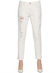 Iro Boyfriend Stretch Cotton Denim Jeans