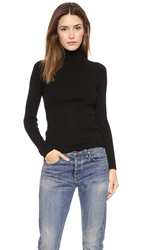 525 America Rib Turtleneck Sweater Black