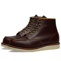 Red Wing Shoes Classic 6 Moc Boot Brown