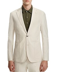 Hardy Amies Ivory Slim Fit Sport Coat