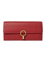 Dickins And Jones Hollywell Foldover Purse Red