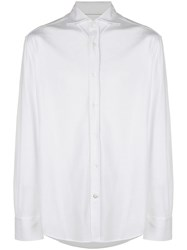 Brunello Cucinelli Poplin Shirt White