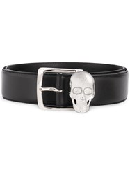 Philipp Plein Skull Belt Black