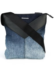 Diesel Degrade Messenger Bag Blue