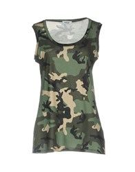 Base London Tank Tops Military Green