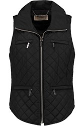 Michael Michael Kors Quilted Shell Gilet Black