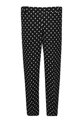 Great Plains Ikat Spot Stretch Skinny Trousers Black