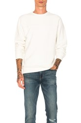 Stussy Reverse Fleece Panel Crew Cream