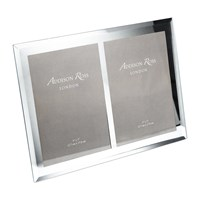 Addison Ross Bevelled Edge Double Glass Photo Frame 5X7