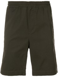 Mauro Grifoni Classic Fitted Shorts Green