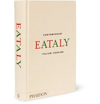 Phaidon Eataly Contemporary Italian Cooking Hardcover Book Black