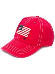 Polo Ralph Lauren Logo Flag Embroidered Cap