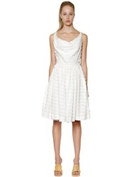 Vivienne Westwood Monroe Frayed Cotton Toile Dress