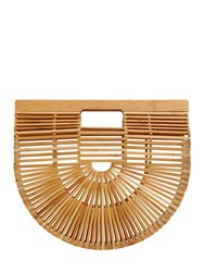 Cult Gaia Large Gaia's Ark Bamboo Bag Natural