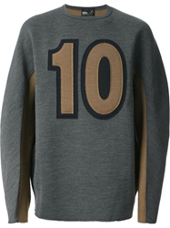 Kolor Embroidered Sweater Grey