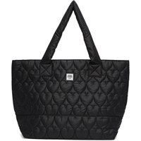Opening Ceremony Black Medium Quilted Chinatown Tote