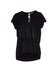 7 For All Mankind Topwear T Shirts Women Black