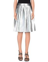 Kai Aakmann Kai Aakmann Skirts Knee Length Skirts Women Silver