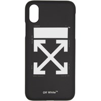 Off White Black And Arrow Carry Ov Iphone X Case