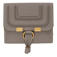 Chloe Grey Marcie Square Wallet