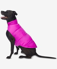 32 Degrees Reversible Down Puffer Coat For Dogs Electronic Pink