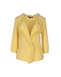 Seventy By Sergio Tegon Knitwear Cardigans Women Yellow