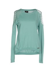 Duck Farm Sweaters Turquoise