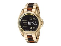Michael Kors Access Bradshaw Display Smartwatch Mkt5003 Gold Tortoise Acetate Watches