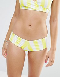 Lolli Mellow Bow Back Bikini Bottoms Yellow
