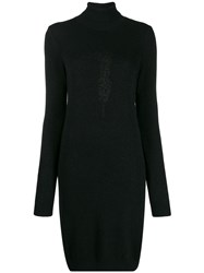 Trussardi Jeans Long Sleeved Knitted Dress 60