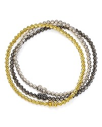 Officina Bernardi Moon Bracelets Set Of 3 Multi