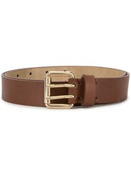 Paul And Joe Military Line Belt Brown