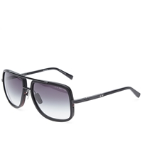 Dita Mach One Sunglasses Matte Black And Grey