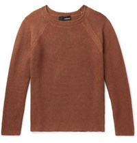 Lardini Cotton Sweater Orange