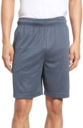 Majestic International Men's Big And Tall Work Out Lounge Shorts Charcoal