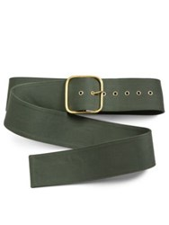 Monse Cotton Canvas Belt
