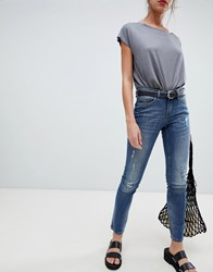 Blend She Nova Janett Skinny Jeans Vintage Blue Denim