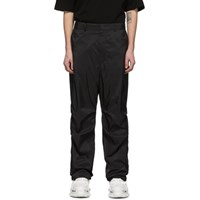 Juun.J Black Pouch Trousers