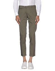 Roberto Pepe Trousers Casual Trousers Men Military Green