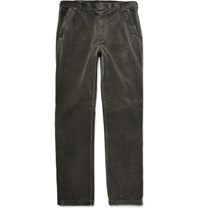 Margaret Howell Argaret Hl Cotton Corduroy Trousers Dark Gray