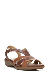 Naturalizer Women's Neina Sandal Brown Leather