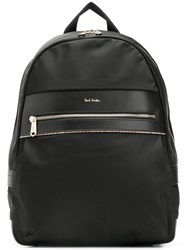 Paul Smith Ps By Logo Plaque Backpack Black