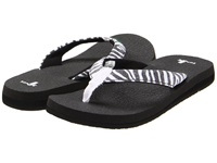 Sanuk Yoga Wildlife Zebra Women's Sandals Animal Print